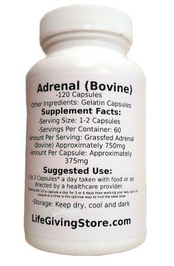 Adrenal Glandular Bovine